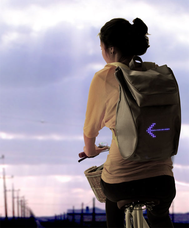 Emotional Backpack For Cyclists