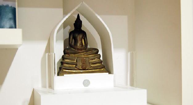 Glow Buddha Shelf