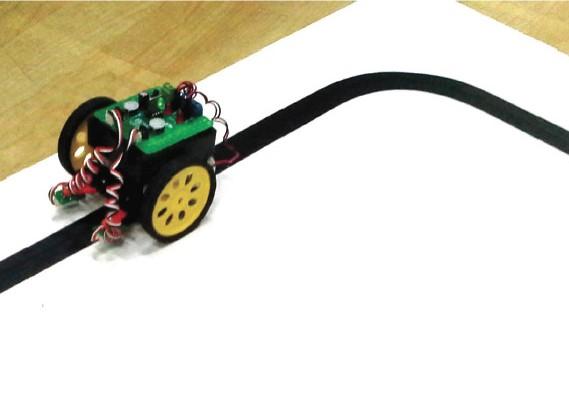 iBEAM ชุดหุ่นยนต์เคลื่อนที่ตามเส้นแบบไม่ต้องเขียนโปรแกรม