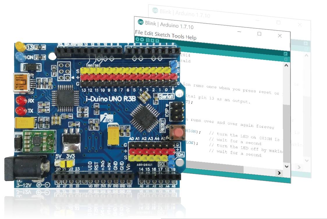 รู้จักกับบอร์ดไมโครคอนโทรลเลอร์ Arduino UNO