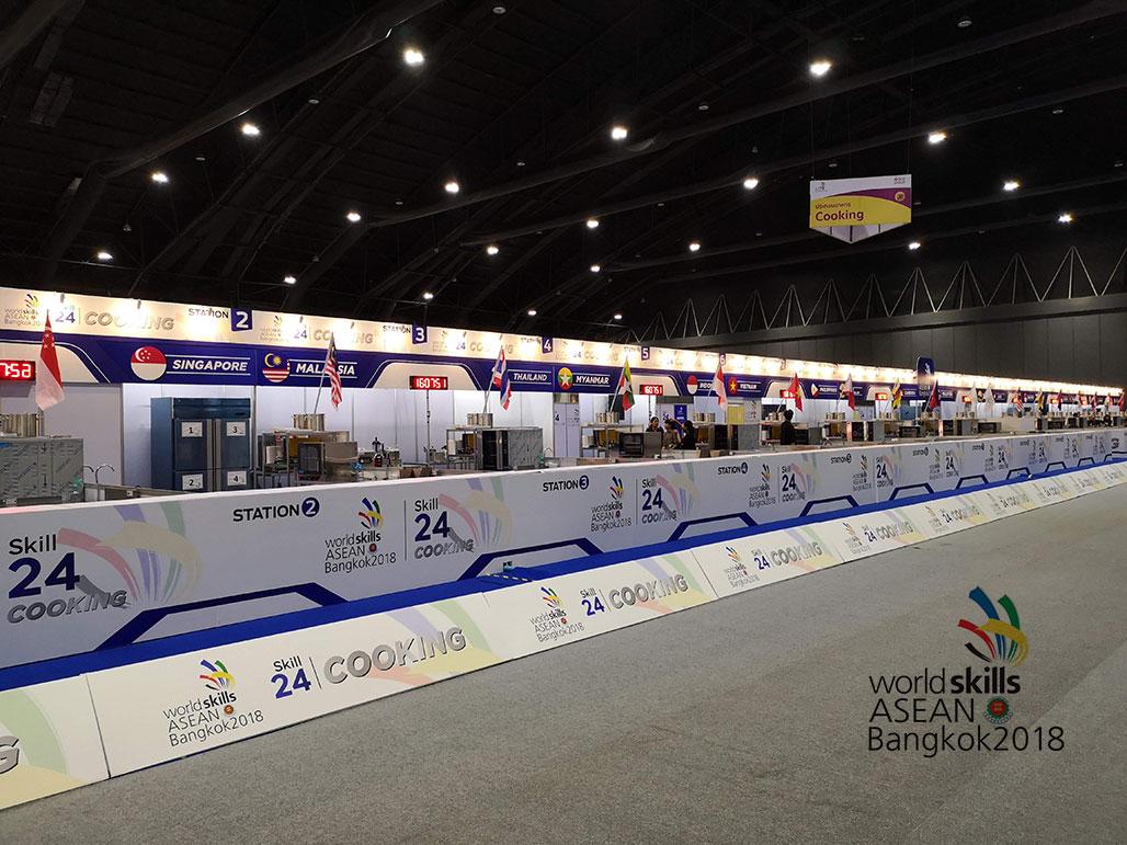 inventor พาชมภาพบรรยากาศงาน World Skills Asean 2018 Bangkok