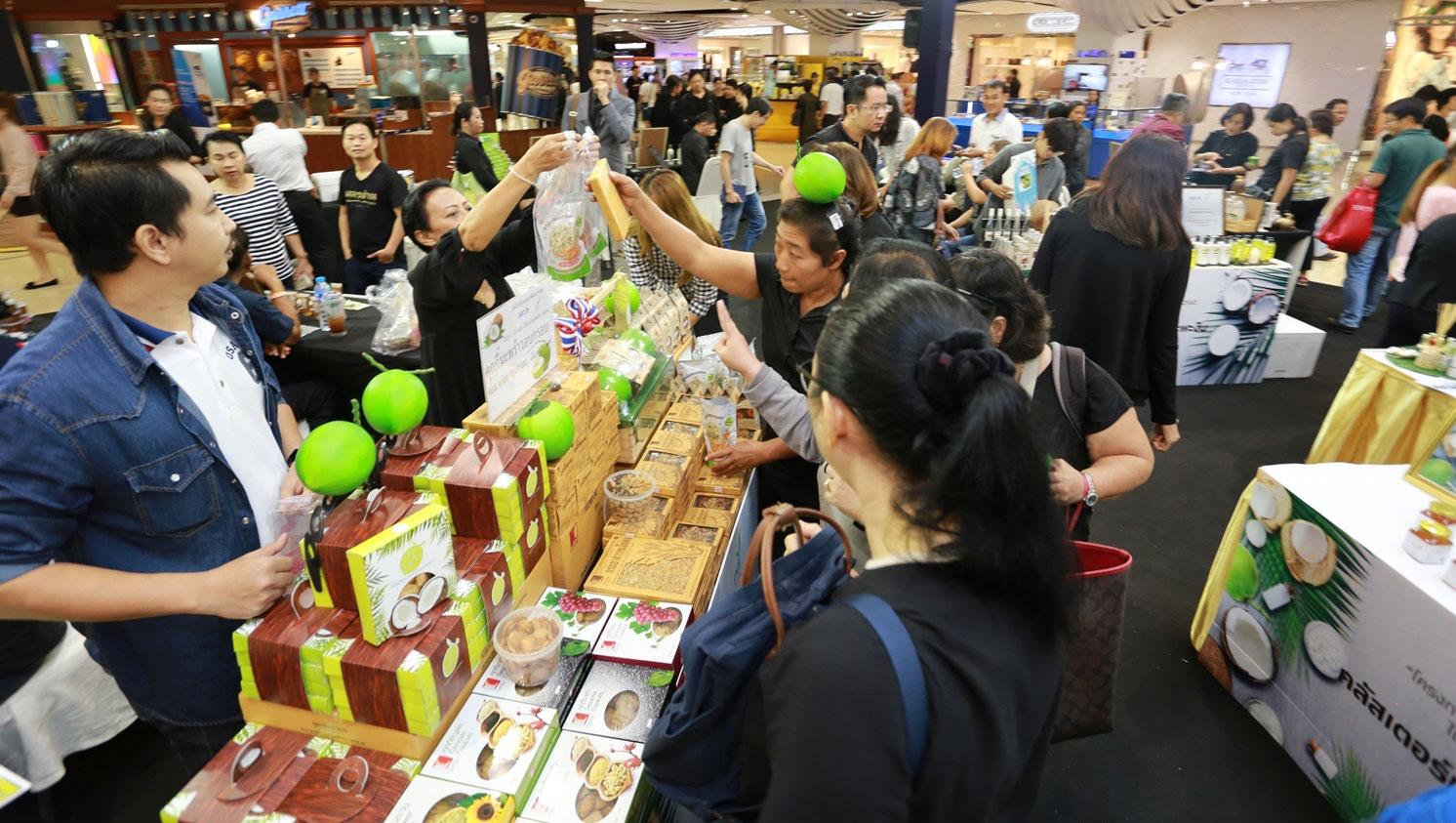 สสว. จับมือสถาบันอาหารเปิดตัว 17 SME เครือข่ายมะพร้าว-กล้วย